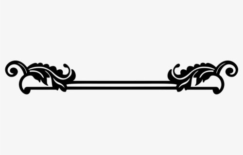 Free Decorative Underline Clip Art with No Background.