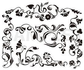 classic frieze designs, vinyl.