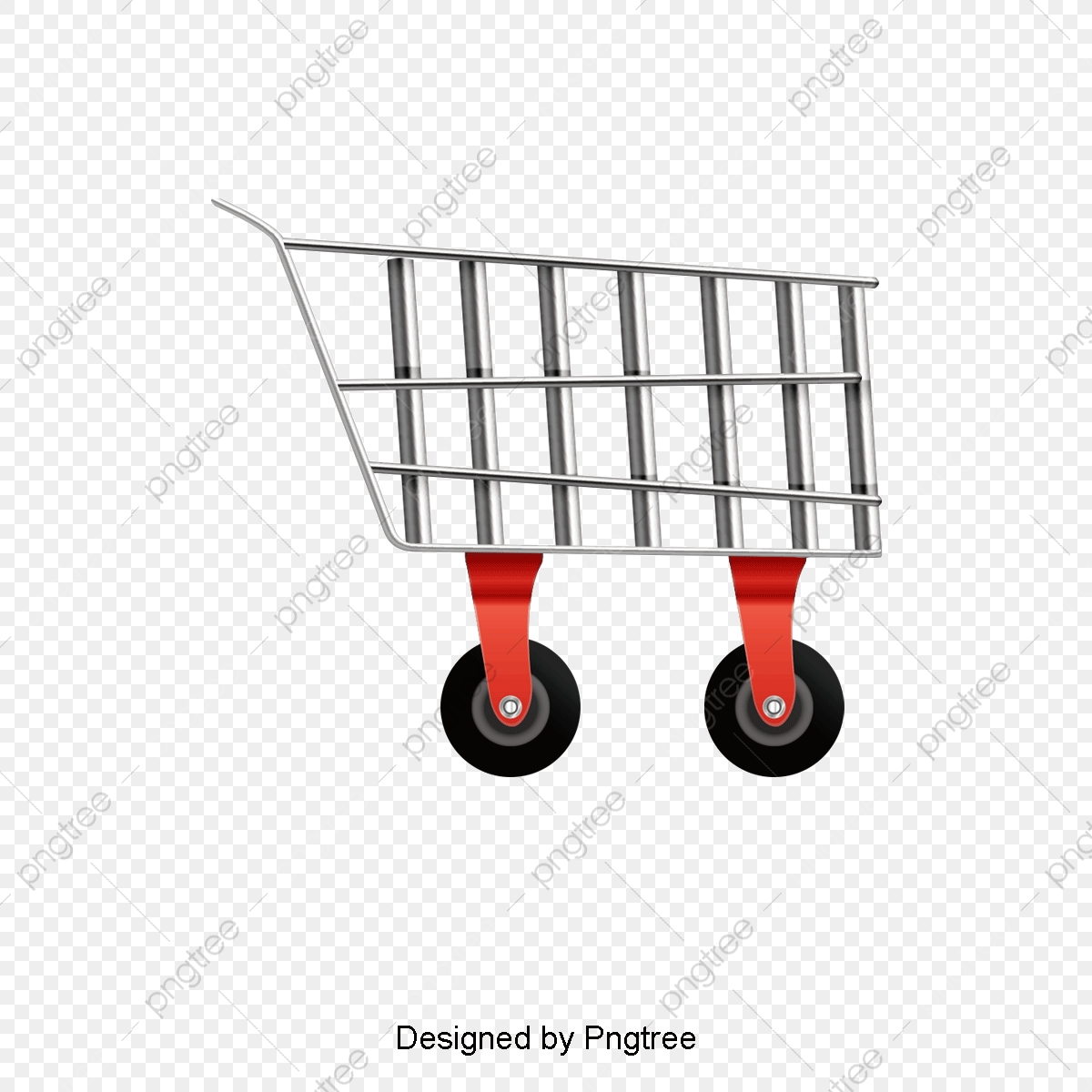 Shopping Cart Decorative Vector, Shopping Cart, Shopping Cart.