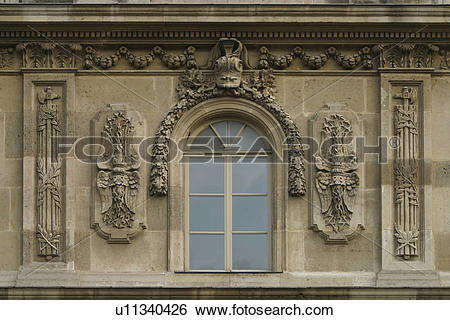 Stock Images of window sill, window, decorative, historical.