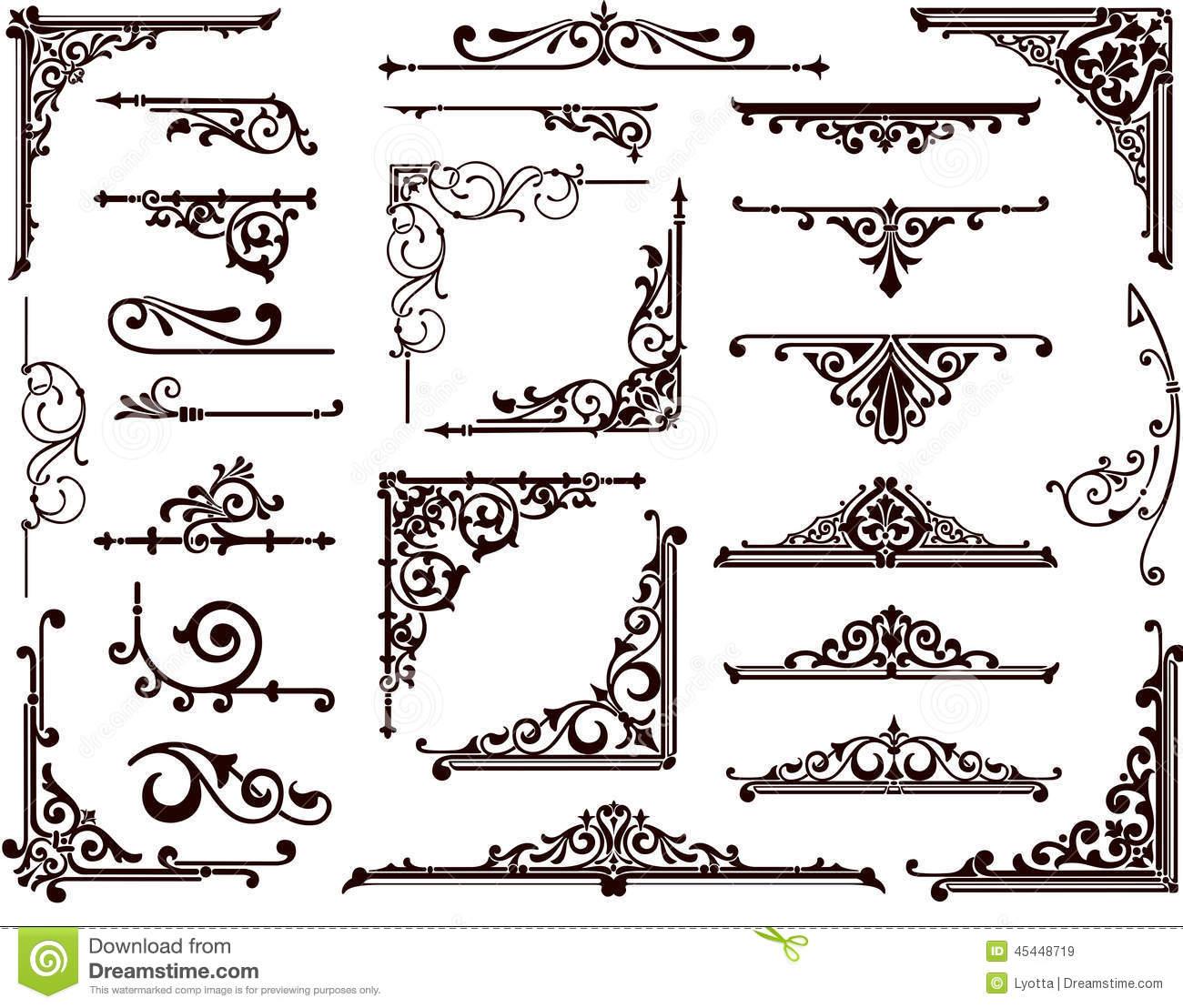 Ornamental Stock Illustrations.