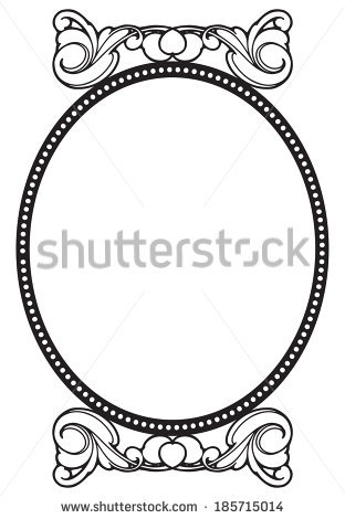 Decorative Frame Stock Vector 361015622.