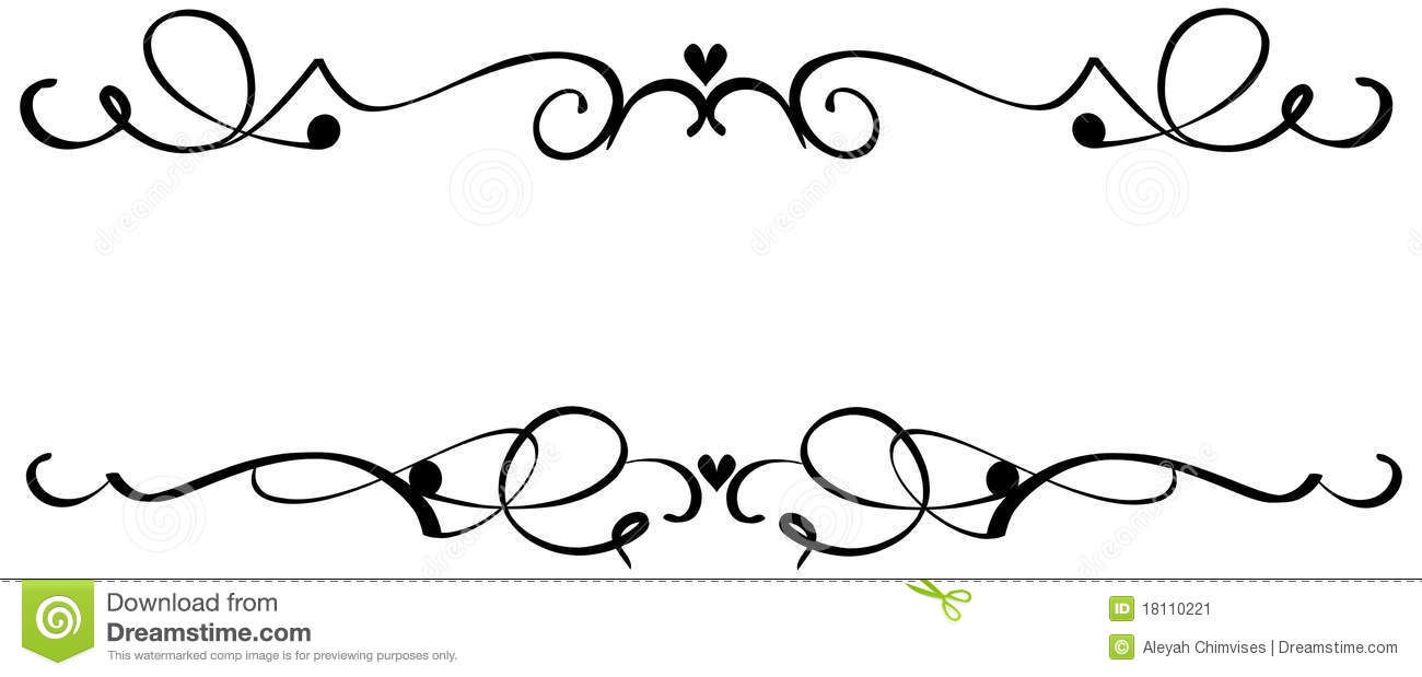 Scroll shapes clip art.