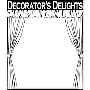 Decorator\'\'s Delights Frame clipart, cliparts of Decorator.