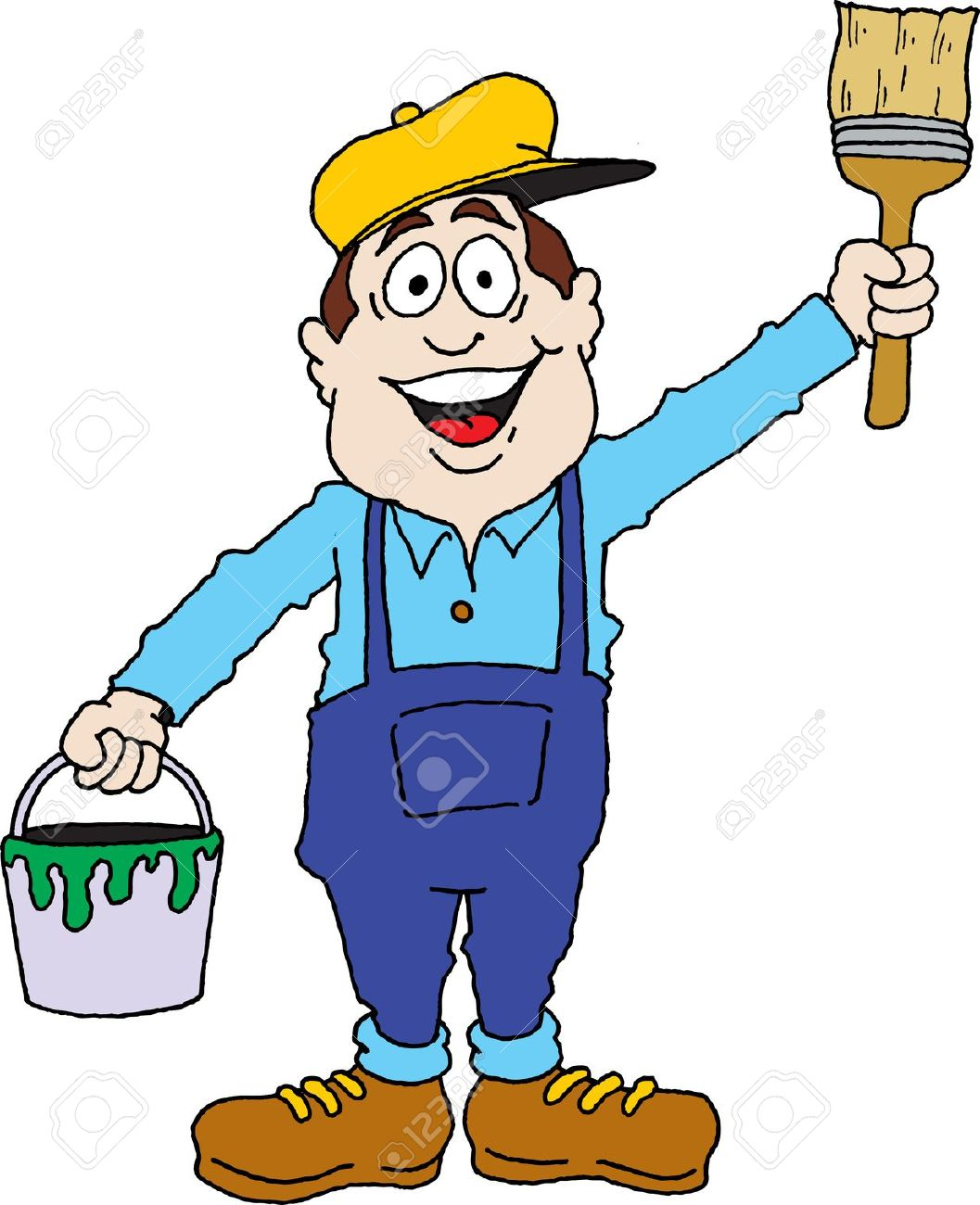 Painting And Decorating Clipart.