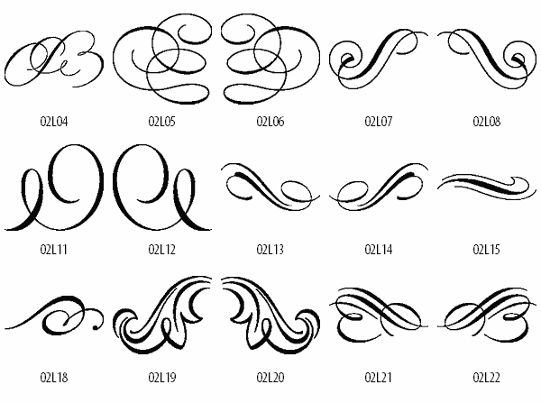 Decorative Scroll Free Clipart.