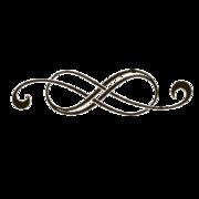 Decorative lines clip art.