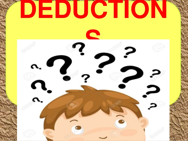 Deductions.