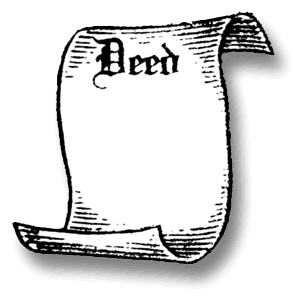 Deed clipart.