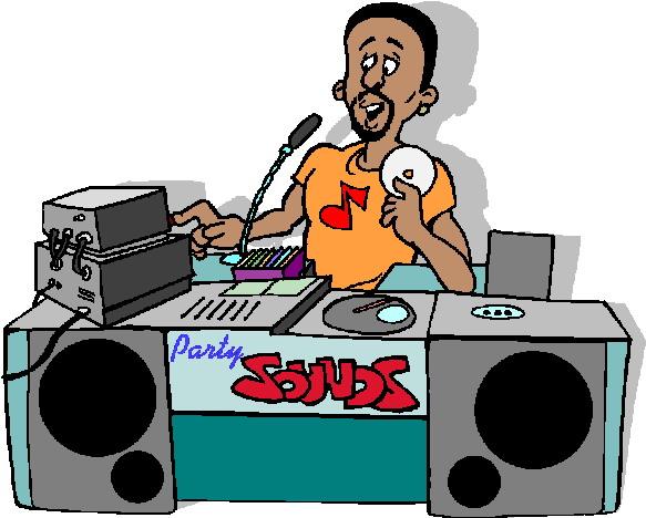 Free dj clip art graphics.