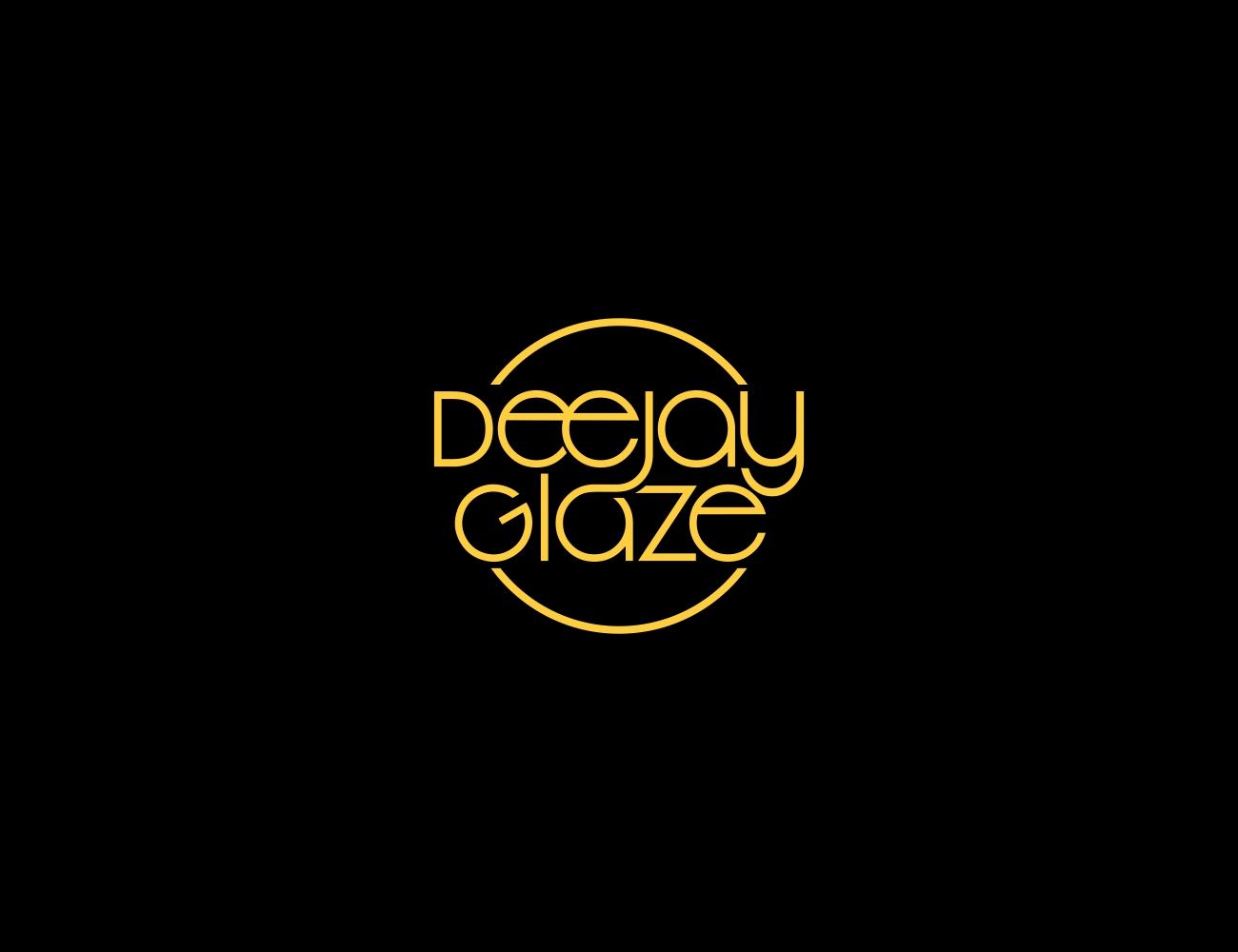 Elegant, Playful Logo Design for Deejay Glaze or DJ Glaze by.