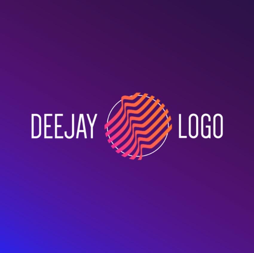 20 Cool DJ (EDM Music) Logo Designs (To Make Your Own).