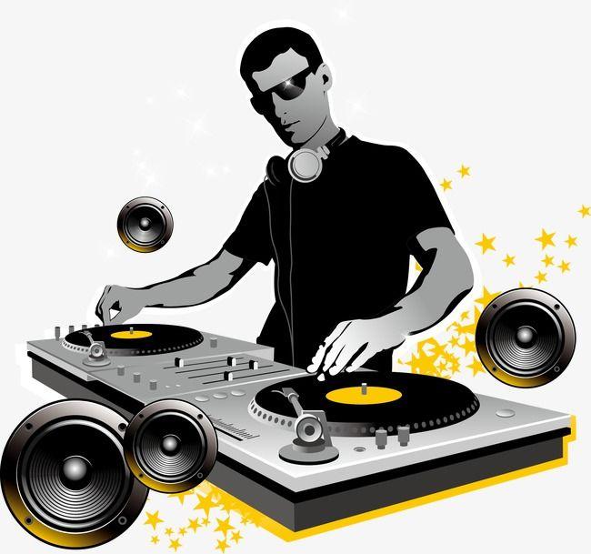 Dj, Music, Sing A Song, Bar PNG Transparent Clipart Image.