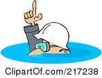 Deep Water Clipart.