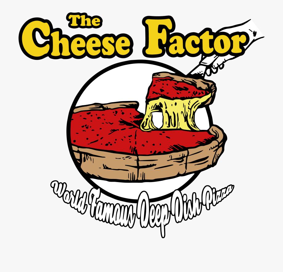 Deep Dish Pizza Logo, Cliparts & Cartoons.