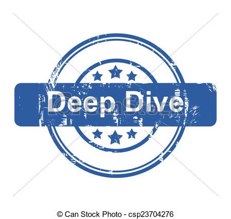 Deep dive clipart.