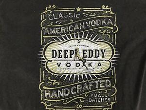 Details about Deep Eddy Vodka Logo Mens T Shirt Short Sleeve Black XL.