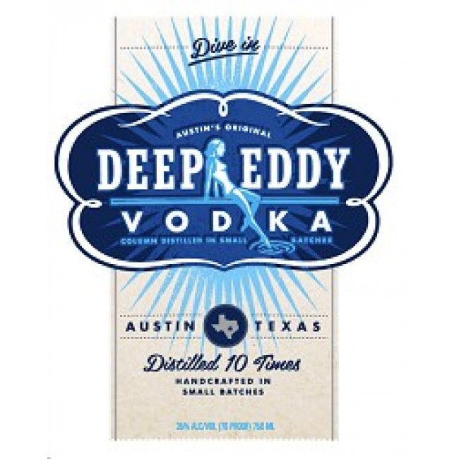 Deep Eddy Vodka 1.75L.