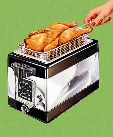Deep Fryer Clip Art, Vector Images & Illustrations.