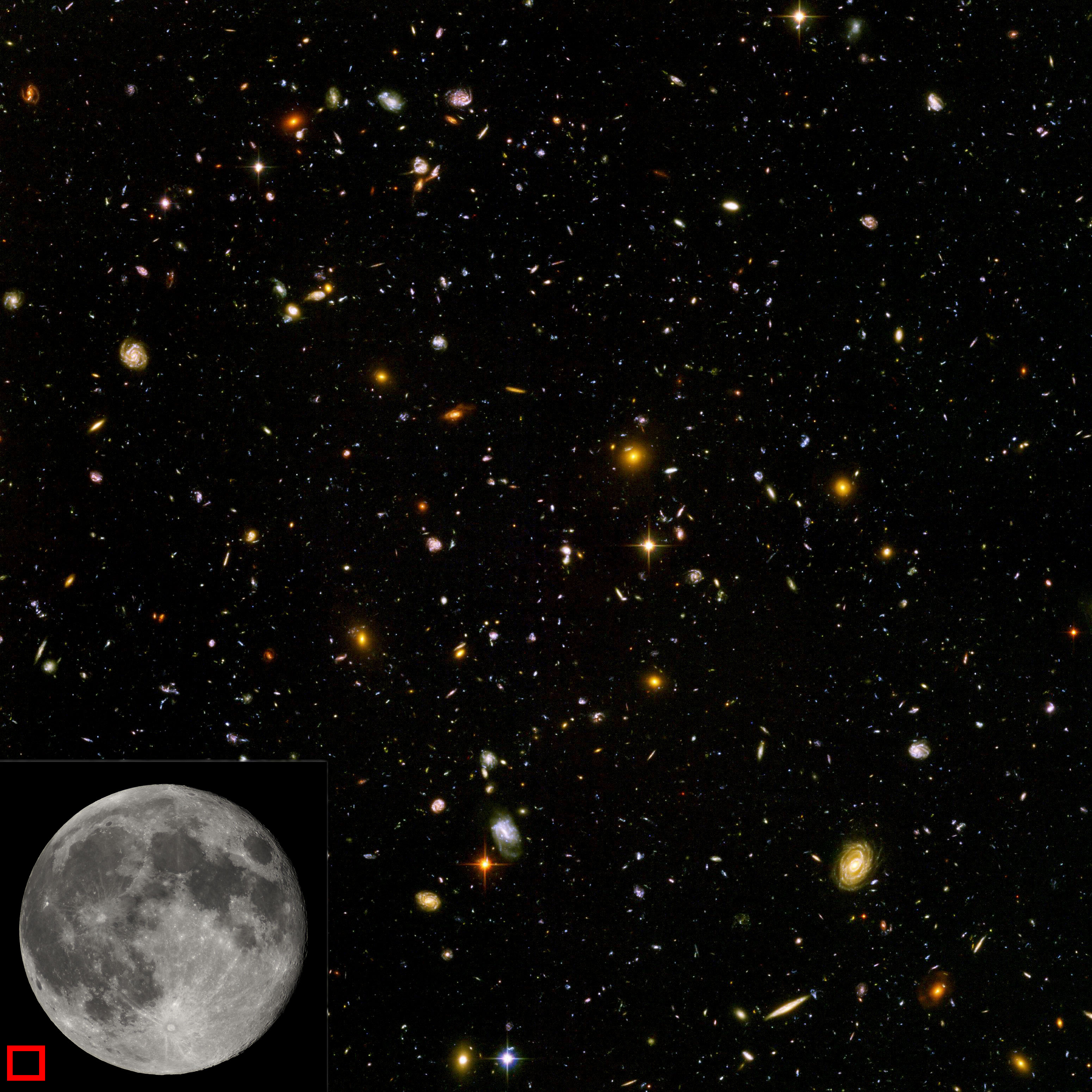 Hubble ultra deep field clipart.