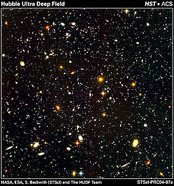 Hubble deep field high resolution clipart.