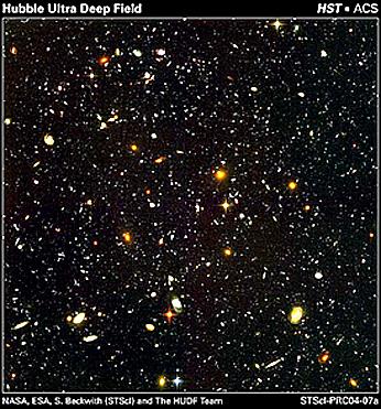 Hubble deep field high resolution clipart.