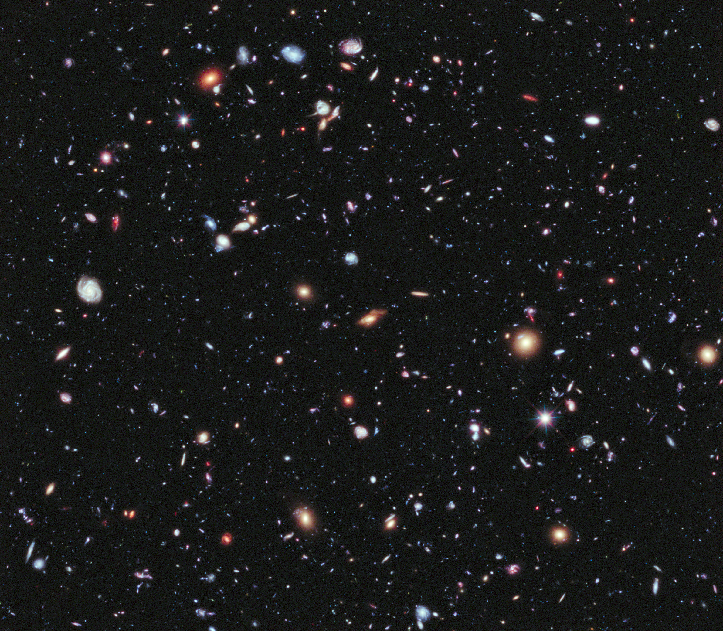 Hubble ultra deep field clipart.