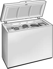 Deep freezer clipart.