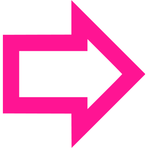 Pink arrow transparent clipart.