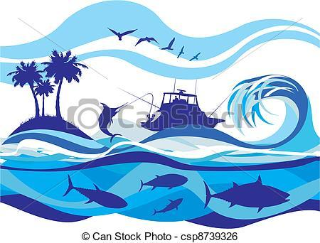 Deep sea fishing clipart 1 » Clipart Portal.