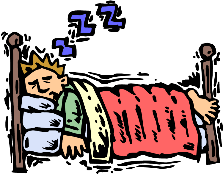 Deep sleep clipart.