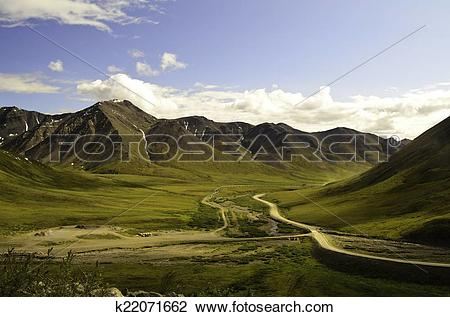 Stock Photo of Deep valley view k22071662.