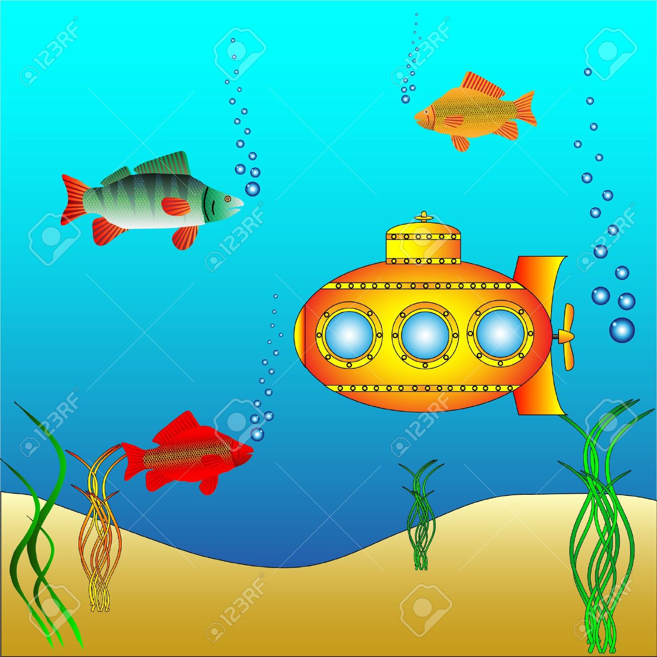 Deep water clipart.