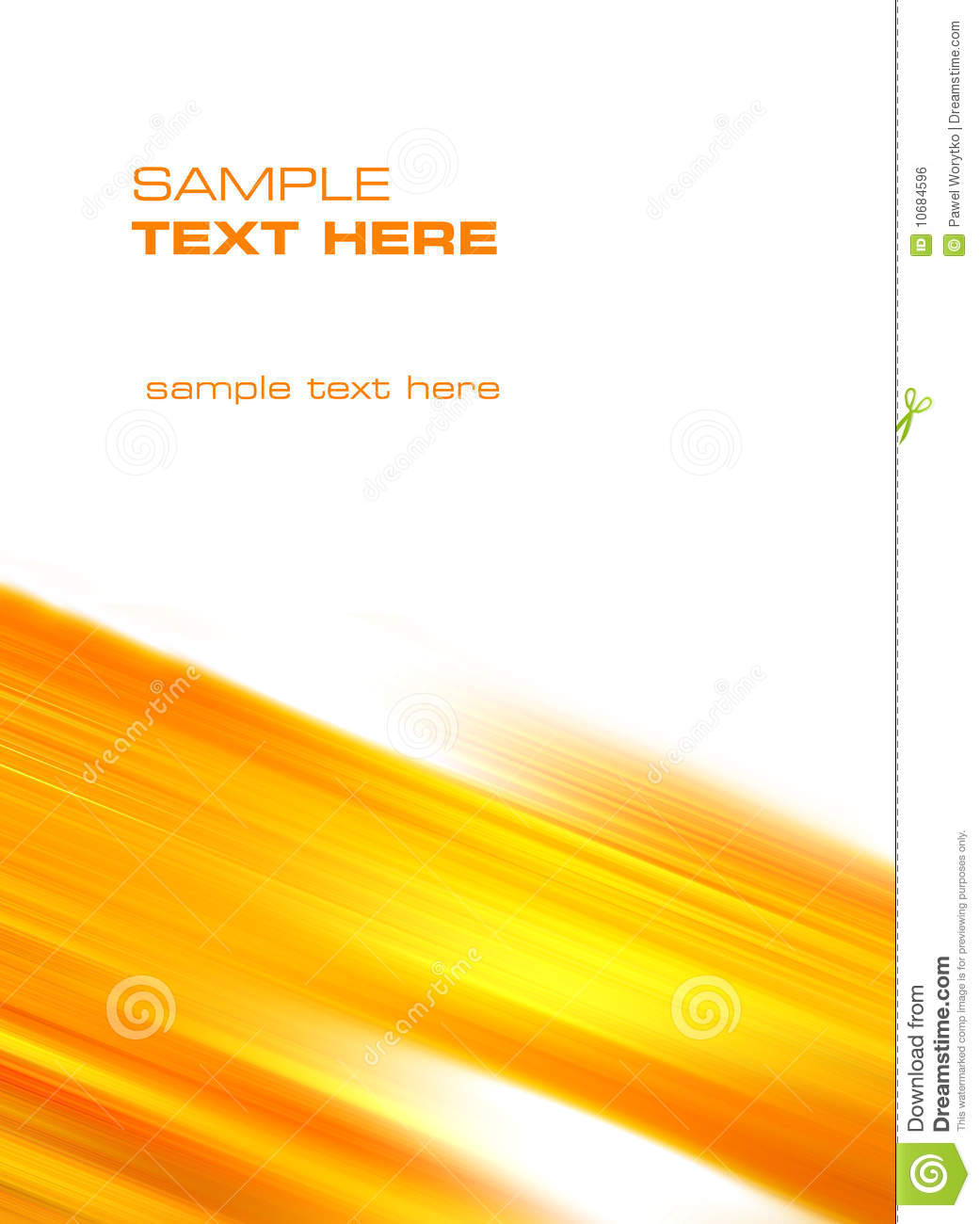 Yellowish Abstract Background Royalty Free Stock Image.