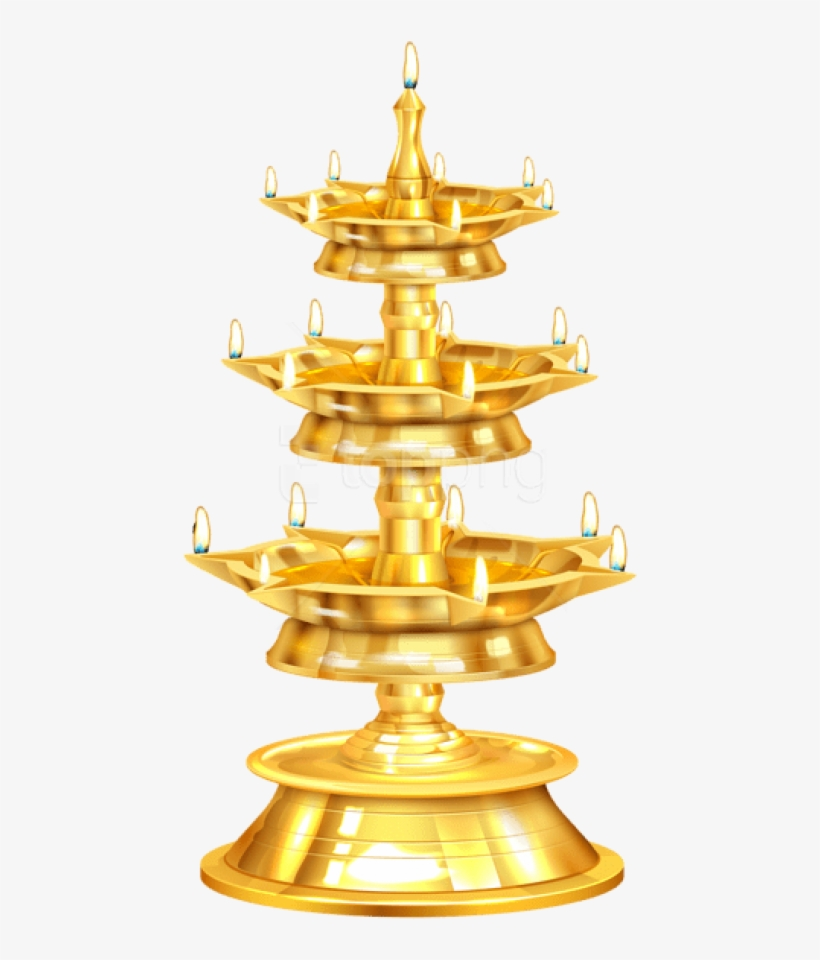 Diwali Candlestick Diya Png.