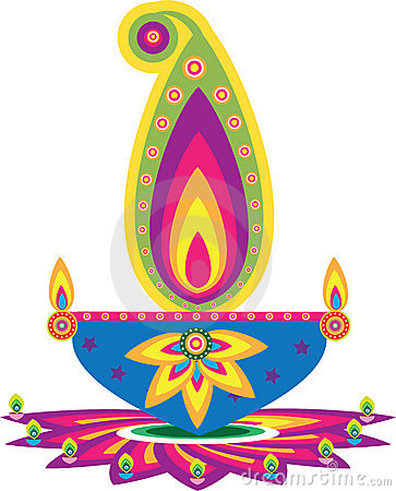 Deepavali Stock Illustrations.