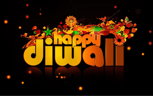 Deepavali Greetings Clipart.
