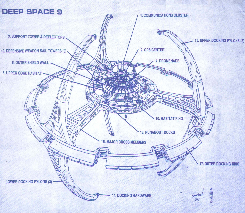 Deep space nine clipart.
