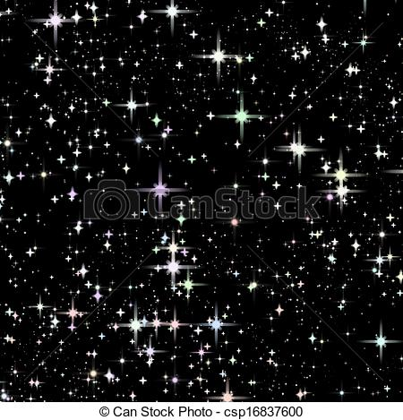 Star space clipart.