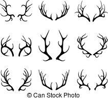 Deer antlers Clipart Vector Graphics. 5,972 Deer antlers EPS clip.