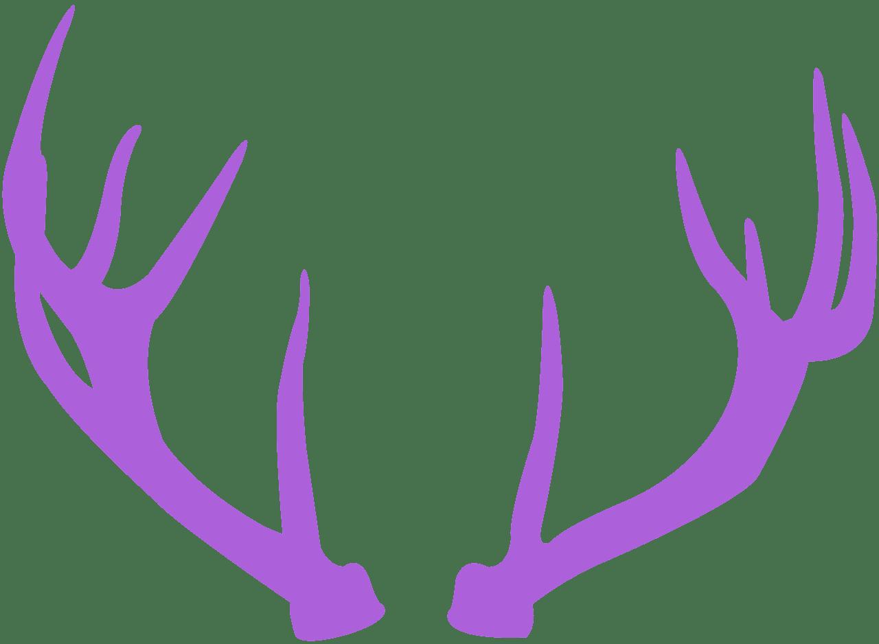 Deer Antlers silhouette.