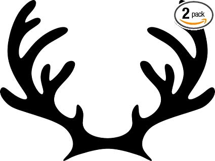 Huge Collection of 'Deer horn silhouette'. Download more than 40.