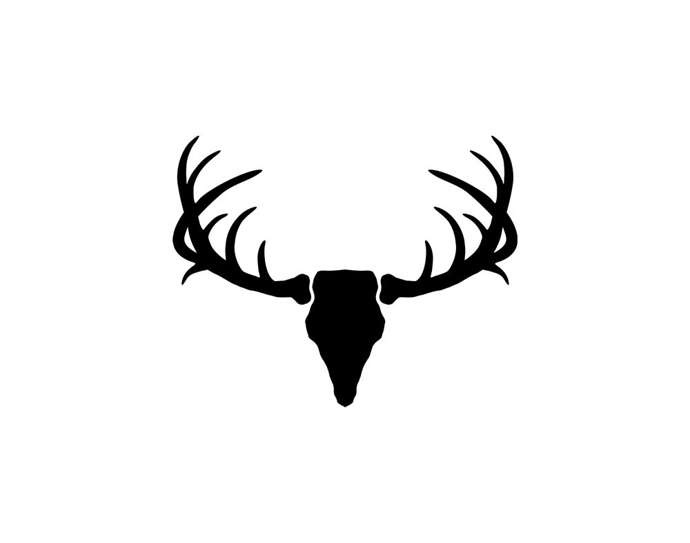 Antler clipart white tail for free download and use images in.