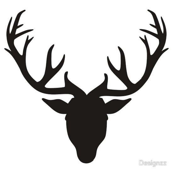 Free Deer Antlers Clipart Black And White, Download Free Clip Art.