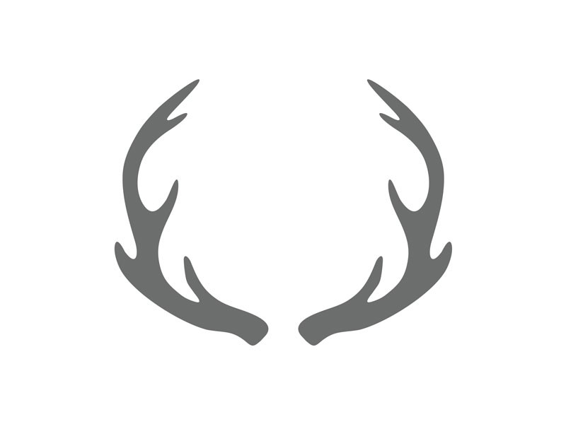 Antler clipart black and white, Free Download Clipart and Images.
