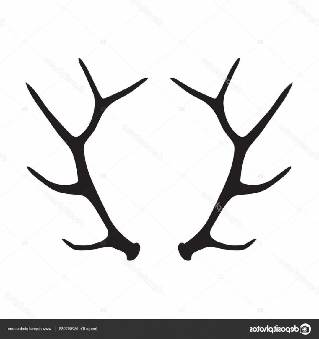 Elk Antler Silhouette Clipart Elk Deer Antler Ydpnu.