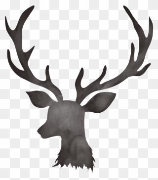 Deer Antler Clipart, Transparent Deer Antler Clip Art Png Download.