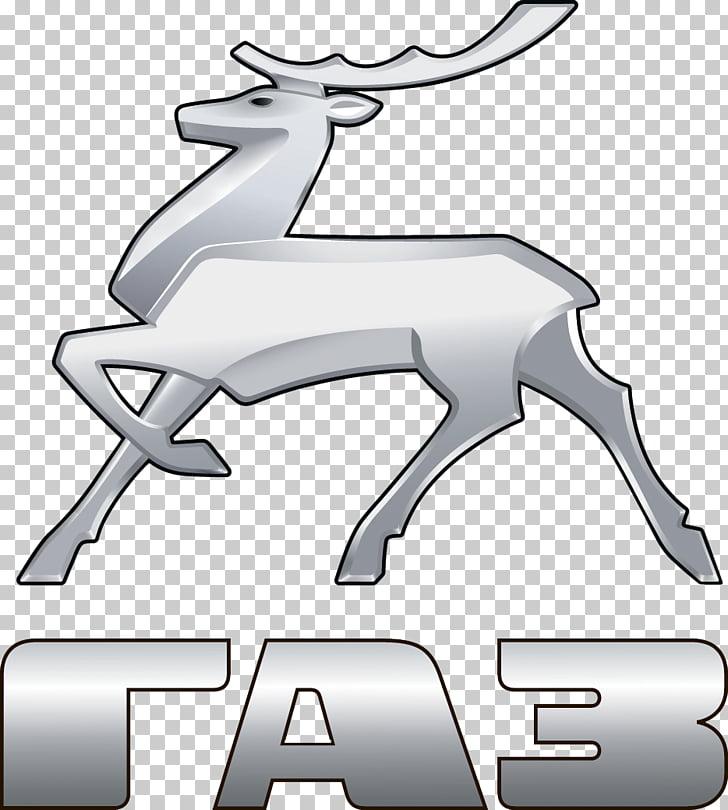 GAZelle GAZ Group Car Logo, gazelle PNG clipart.