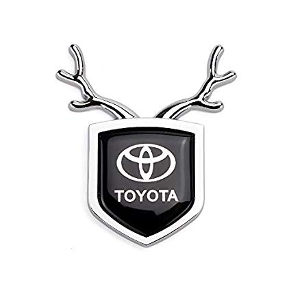 Amazon.com: ffomo Hisport Car Deer Emblems Badge Metal.