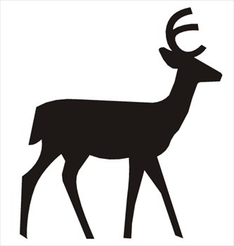 Cute Deer Clipart.